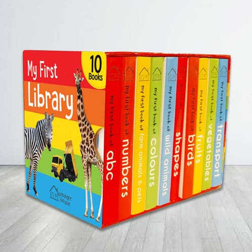 Books Boxset for Kids - My First Library