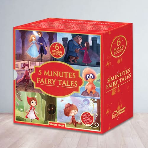 Bookset of 5 Minutes Fairy Tales for Kids