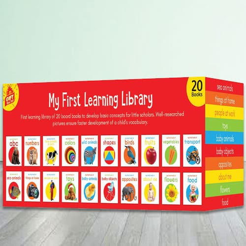My First Learning Library Box Set of Popular Books
