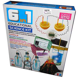 Enjoyable 6 in 1 Educational Science Kit the Brain Game