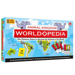 Beautiful Madzzle Worldopedia Animal Kingdom Manufactured by MadRat Games