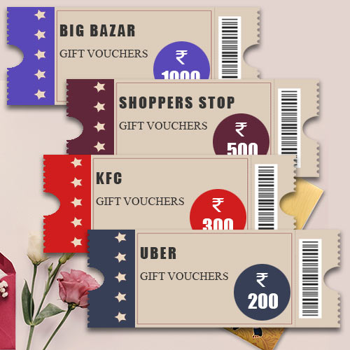 Shop n Save Gift Vouchers worth INR 2000