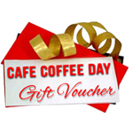Send  Cafe Coffee Day Coupon to India