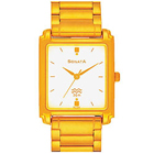 Attractive Sonata Watch for Men in Golden Colour