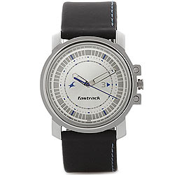 Stylish Analog Gents Watch from the House of Titan Fastrack