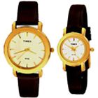 Traditional Pair of Watches from Timex