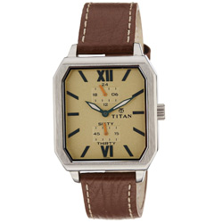 Shimmering Gents Wrist Watch from Titan