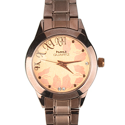 A Fashionable Womens Watch decked with stones