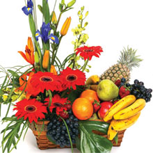 Flowers with Fruits Delivery in India
