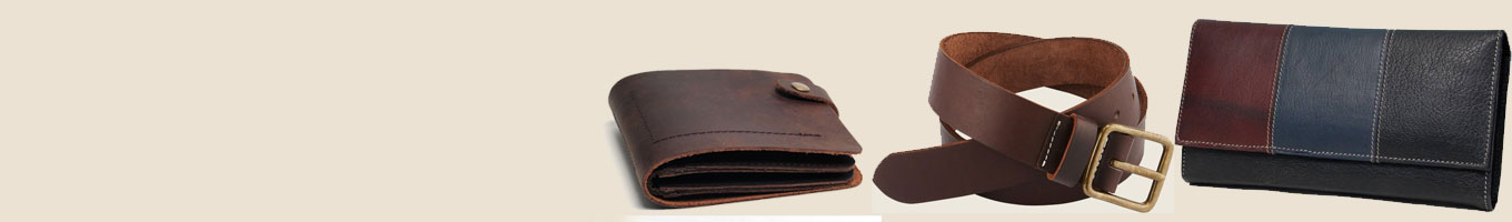 Leather Items Delivery in India
